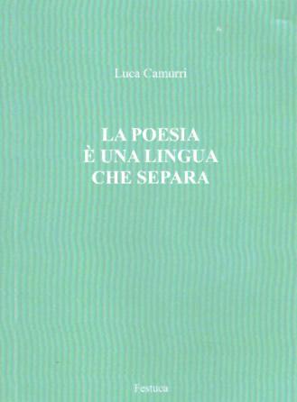 La poesia una lingua che separa alla scoperta dell - Poesia lo specchio ...