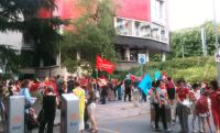 Lo sciopero di giugno contro l'esternalizzazione
