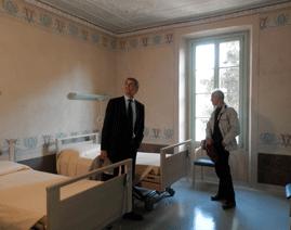 Villa pelucca inaugurata la residenza sanitaria disabili lo specchio di sesto san giovanni - Letto disabili asl ...