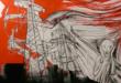 L'opera su tela del visual artist Ascanio