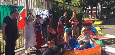 Piscina carmen longo flash mob di fi e sestomigliore per for Piscina olimpia sesto san giovanni nuoto libero