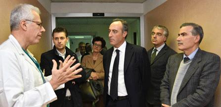 Gallera in visita all ospedale bassini ruolo strategico for Ospedale sesto san giovanni