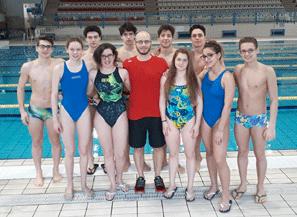 Campionati nazionali giovanili di nuoto dieci atleti for Piscina olimpia a sesto san giovanni