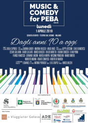 Risultati immagini per music and comedy for peba